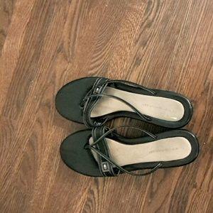 Tommy Hilfiger black casual sandals